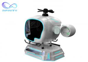 China Vr Airplane Full Flying Games Simulator 9D Vr Flight Simulator Cockpit Aircraft Gaming Machine With Vr Glasses wholesale