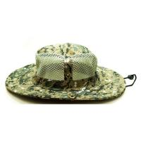 China Breathable Vented Mesh Cotton Bucket Hat For Men Camouflaged Patterns Available wholesale