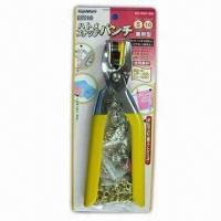 China Pliers for 9.5 and 11mm Snap Fastener and 8mm Eyelets, Includes Snap Fasteners and Eyelets wholesale