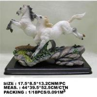 China Resin horse statue;horse figurine;horse crafts wholesale