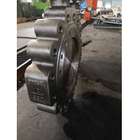 China Bidirectional Fire Safe Triple Eccentric Butterfly Valve on sale