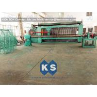 China Large Heavy Type Gabion Machine , Hexagonal Wire Mesh Weaving Machine  wholesale