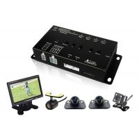 China Best 360 Degree Car Vehicle Security Camera System with DVR LCD Monitor Cables wholesale