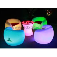 China CE , ROHS , UL Illuminated / Glow Chair with 16 colors lighting wholesale