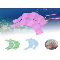 China Silicone Webbed Swimming Gloves Cricket For Swimswim And Swimming Exerciser wholesale