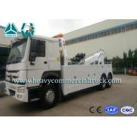 China SINOTRUK 20 Tons Heavy Duty Tow Truck Wrecker , Road Recovery Vehicle wholesale