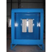 China Open Face Automated Powder Spray Booth With Cartridge Type Powder Recovery System wholesale