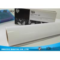 China Water Resistant Glossy Cast Coated Photo Paper Sticker Roll 135gsm wholesale