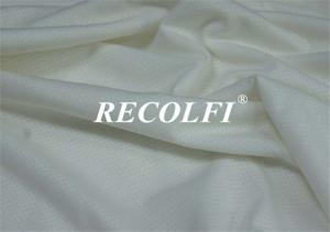 China Recycled Polyester Spandex Knit Fabric 4 Way Stretch Customized Solid Color Dying on sale