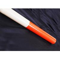 China OEM Telescoping Fiberglass Antenna Mast / Colorful Telescoping Fiberglass Flagpole wholesale