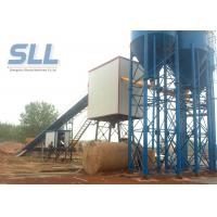 China PLC Control Concrete Production Plant / Concrete Batching Machine Low Dust wholesale