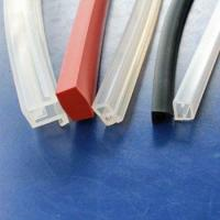 China Extruded Silicone Rubber Profiles wholesale