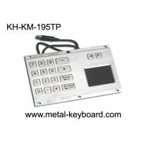 Buy cheap IP65 Rate Kiosk Numeric Panel Mount Keyboard  , Rugged Keyboard Metal from wholesalers