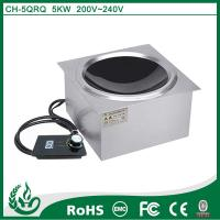 Built in concave induction cooker with 3.5kw