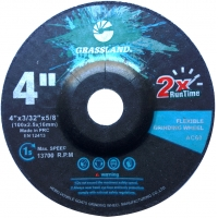China 4 Inch Stainless Steel 100×2.5x16mm Flexible Grinding Disc wholesale