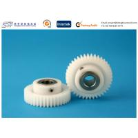 China Insert precision molding plastic gear POM Gears with Stainless Steel Insert wholesale