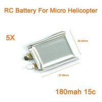 China Mini RC Battery 3.7V 180mah 15C RC Helicopter - Lowest Price! wholesale