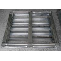 Buy cheap Warehouse Galvanized Steel Pallets Metal Handling Equipment Stronger And Durable from wholesalers