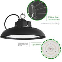 Quality Dimmable Ul Ufo Led High Bay Light 100w 13000lm 5000k / Hanging Warehouse High Bay Lighting for sale