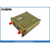 Buy cheap Miniature UAV Video Link 1 Watt 40km LOS FHSS Data Link 10MHz Bandwidth from wholesalers