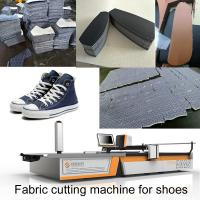 China 1.7m Automatic Fabric Cutting Machine Sneakers Leather Canvas Shoes Machine For Shoes wholesale