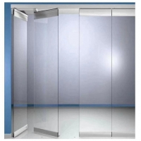 China Top Hanging System Acoustic Room Dividers Conference Hall Folding Movable Glass Wall Partitions wholesale