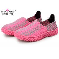 China Holiday Elastic Woven Stretch Shoes Comfortable Slip Resistant wholesale