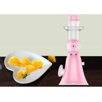 China Hand Fruit Ice Cream Maker Homemade Pure Juicer No Added Preservatives wholesale