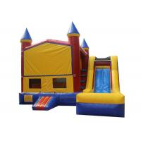 China Customized Children Inflatable Bouncer Combo Jump House With Slide Safe Nontoxic on sale