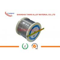China Chromel Constantan Thermocouple Wire 20AWG Bare Wire Used For Extension Thermocouple Cable wholesale