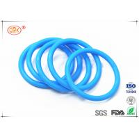 China Durable Tasteless Rubber Silicone O Rings Anti Dust 30 - 85 Shore Hardness wholesale