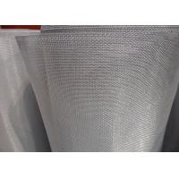 China 18 X 16 Mesh Bright Stainless Steel Insect Screen Light Weight With Uniform Finish wholesale