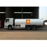 China Durable Oil Tank Truck / Oil Transportation Trucks 20 - 25 Tons Loading Capacity wholesale