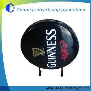 China Round vacuum light box wholesale