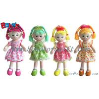 China High Quanlity Stuffed Doll Toy Soft Body Toy With Colorful Dress wholesale