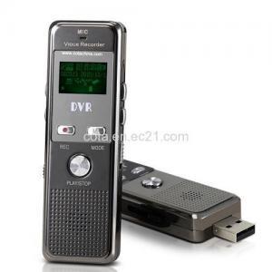 China 2GB Micro Voice Recorders, FM CT-DVR0166 wholesale