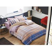 China Pigment Print Home Cotton Bedding Comforter Sets Twin Size / Full Size wholesale