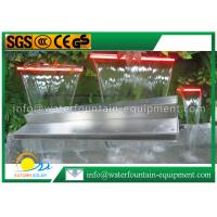 China Garden Water Fountain Equipment Waterfall Blade With Remote Controller 1500mm Length wholesale