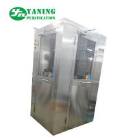 China L Type Door Corner Stainless Steel Air Shower Customize Size Easy To Clean wholesale