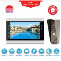 China High definition video door phone with motion detection security video intercom system on sale