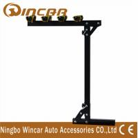 China Bikes Car Trunk Rear Bike Carrier Rack Folding Hitch Mounted Iron wholesale