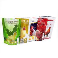 China Moisture Proof Plastic Pouches Packaging Food Plastic Bag Zipper Top Customized Color wholesale