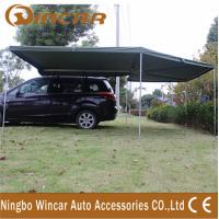 China Canvas Tent Trailer Awning Waterproof with Rectangle Triangle wholesale