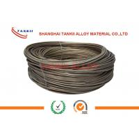 China TK1 Black Resistance FeCrAl Alloy , High Thermal Efficiency Stainless Steel Wire For Resistor wholesale