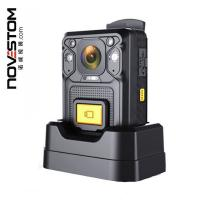 China police wearable camera with GPS 4G WIFI SOS 1296P | Novestom on sale