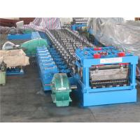 China 110KW 3 - 6mm thickness Silo Roll Forming Machinery Transmission Table wholesale