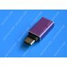 Buy cheap MacBook Nexus 5X / 6P Type C Micro USB Purple Metal USB C to USB A 3.0 from wholesalers