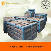 China Custom Mill Liners Pearlitic Cr-Mo Steel End Liners Dia 4m Hardness More than HRC33-43 wholesale