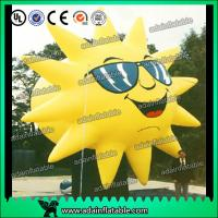 China Customized Inflatable Sun Replica Cartoon For Sunglasses Advertising wholesale