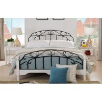 White Metal Bed Queen: High End Wrought Iron Queen Bed , White Metal Frame Double